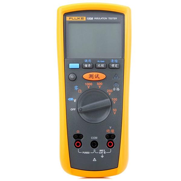 绝缘测试仪兆欧表数字摇表F1508