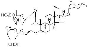 麦冬皂苷O-4分析标准品 HPLC ≥98%cas号:94898-61-0