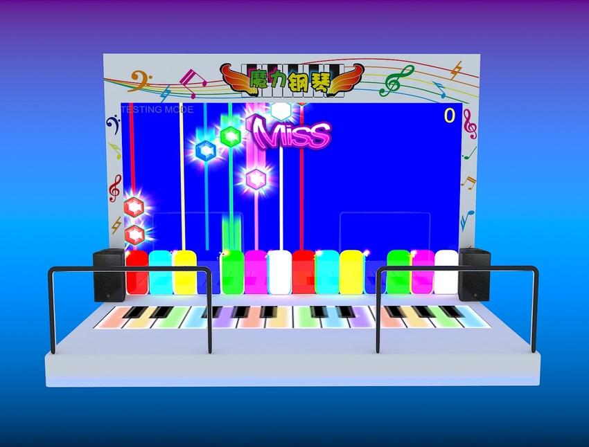 魔力钢琴舞台