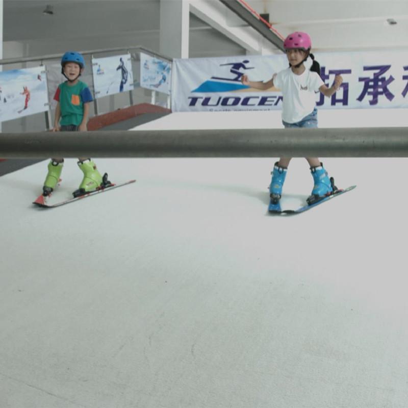 室内滑雪模拟器 广东冰雪运动体验设备 健身房室内滑雪机厂家