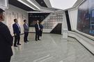 黄骅市市委书记朱春燕等领导莅临威成亚黄骅现代生产基地参观指导