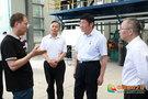 四川省经信厅党组成员、副厅长王建翔一行到攀枝花学院调研