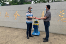 爱心在行动!沃柯雷克向苏州市社会福利总院捐赠晨检机器人
