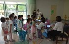5G晨检机器人守护儿童健康 苏州移动5G赋能智慧校园