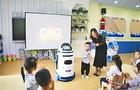 机器人走进幼儿园