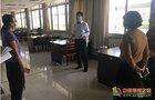 中国计量大学领导到图书馆检查指导师生返校准备工作