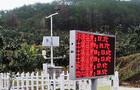 上杭新德里农庄农田小气候观测站使用