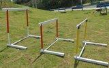 升降跨栏架  比赛用跨栏架  学校训练跨栏架  铝合金跨栏架  标准跨栏架