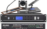 視像跟蹤式會議討論表決一體化主控機LH-M500