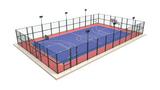 舒华品牌  场地设施  JLG-300框架式笼式围网