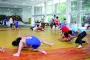 景圣中学:打造摔跤柔道名片