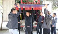 萤火虫公益:上蔡两小学获赠六万体育器材