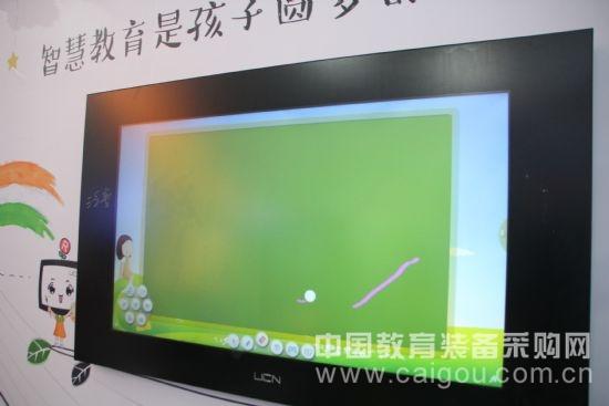 触控黑板不简单泛普让纳米技术走进课堂