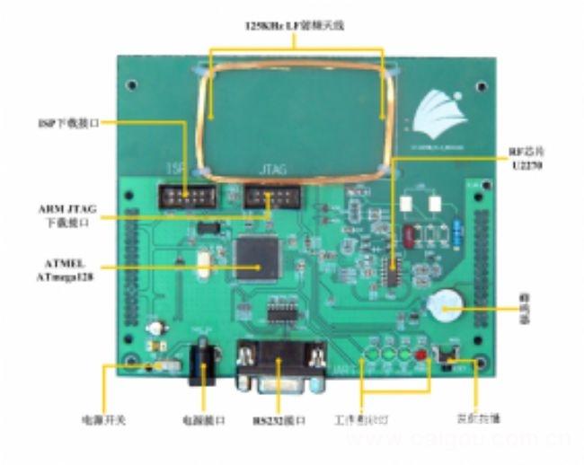 RFID基礎教學實驗系統