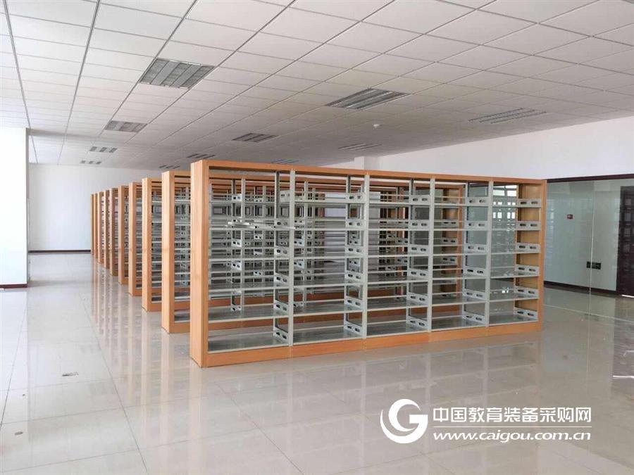 双柱单面储物书架 钢制书柜书架厂家 书架批发