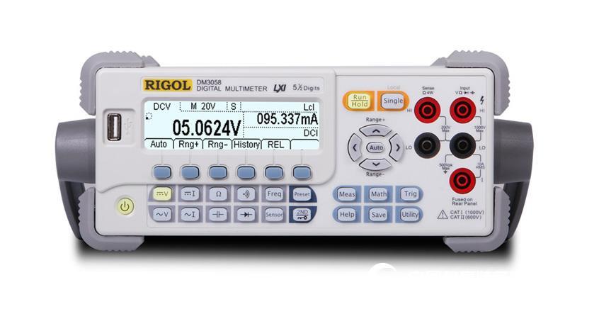 普源 RIGOL DM3058 DM3058E 五位半臺式數字萬用表