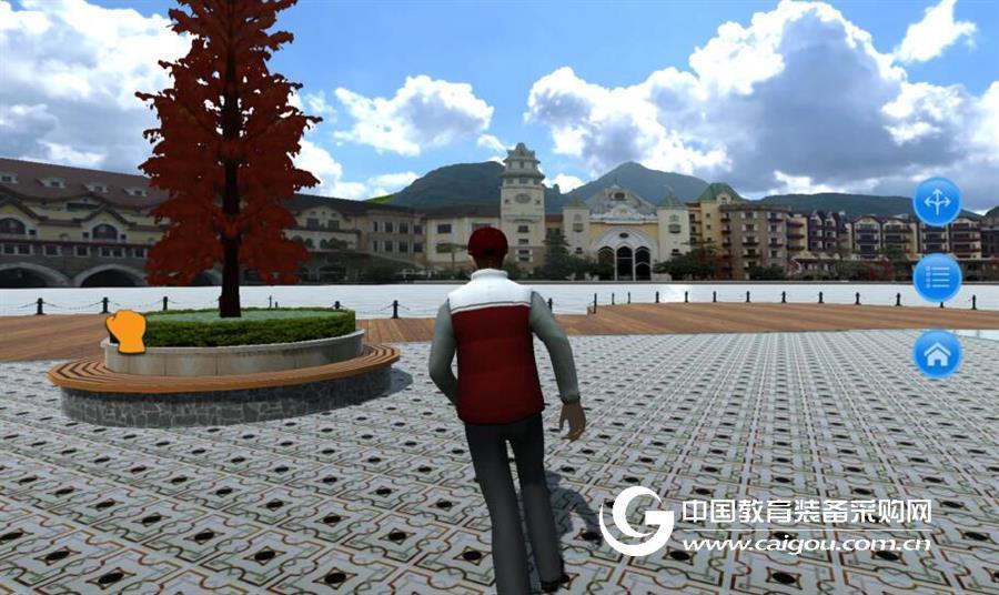 旅游VR實訓系統(旅游專業教學模擬實訓)