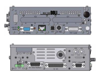 EDC220控制器  2448  德國DOLI公司