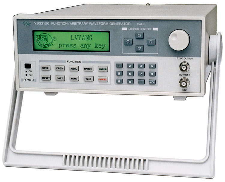 YB33150 任意波信號發生器