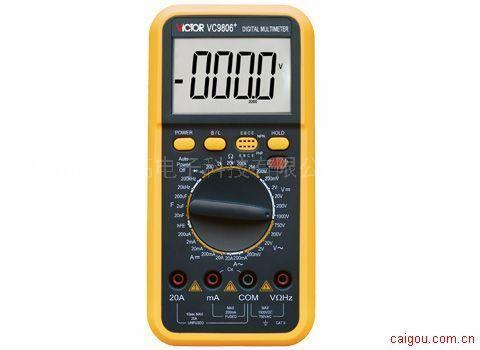 数字万用表 VC9806+