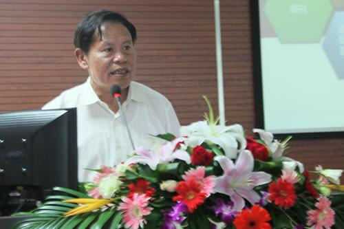 原上海市教育装备部主任罗一华致辞
