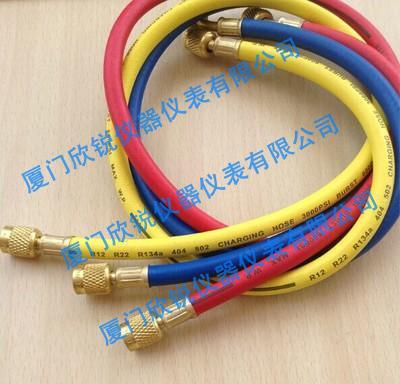 空调r22r410R134加注管加液管三色管冷媒管汽车空调加注管