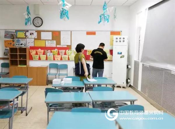 航点助力一流学校打造无霾校园!