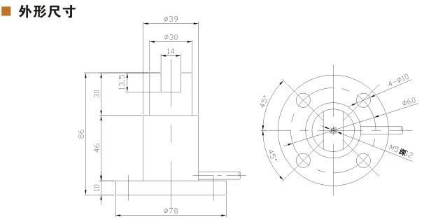 静态扭矩传感器HCNJ-102B-U型扳手静止型力矩扭力检测仪变送器