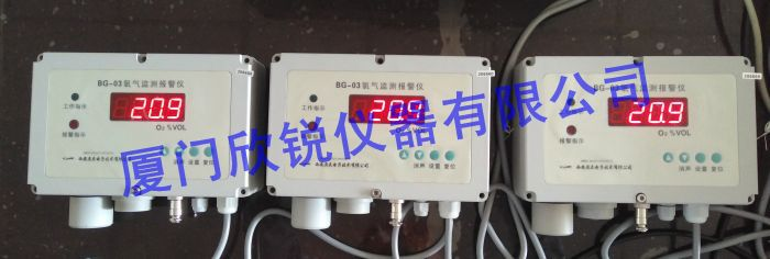 BG-03壁掛式氧氣檢測報警儀廠區車間氧氣報警帶蜂鳴聲BG-03